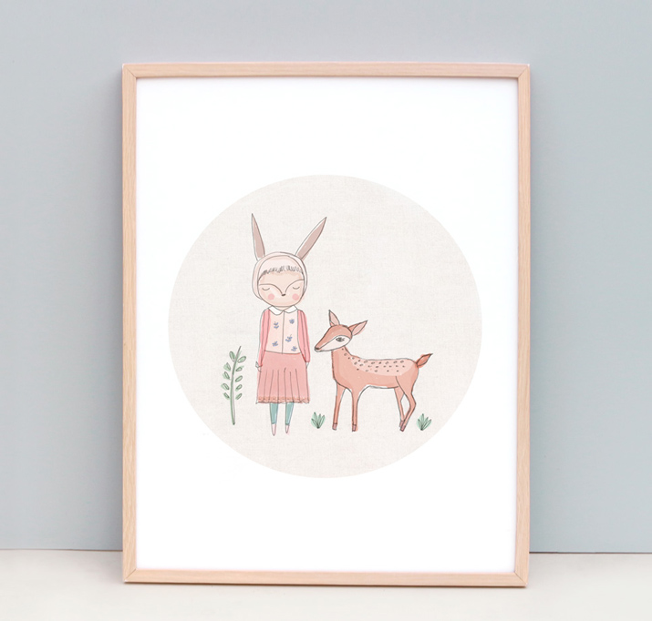 bc_nomuu_megs_deer_girl_and_deer_art_print